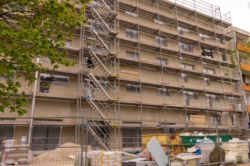 Baufortschritt am 04.05.2021 Bild 2