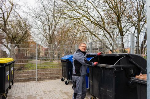 Müllcenter Heinrich-Heine-Straße