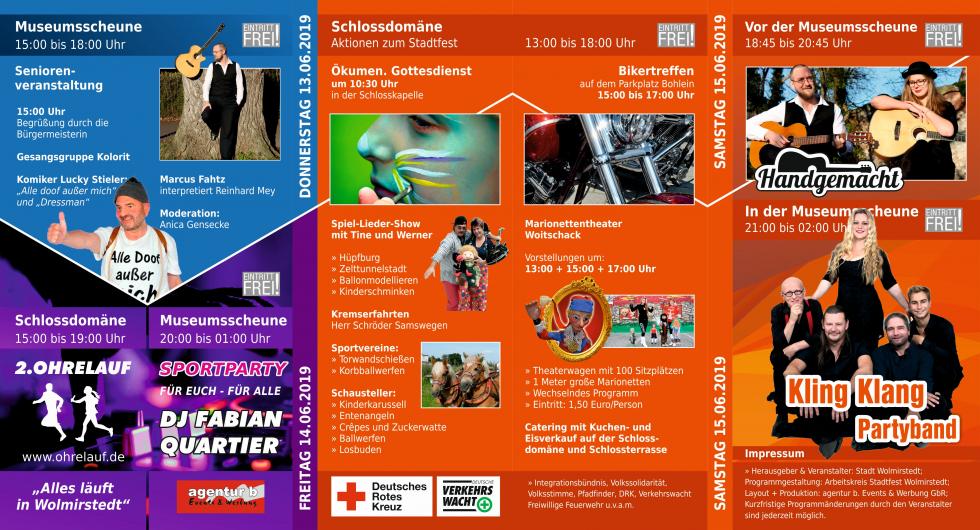 Stadtfest Flyer Seite 2